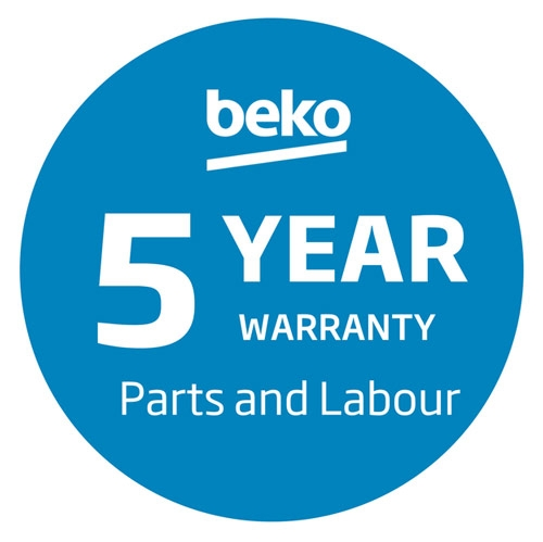 5 year manufacturer's warranty